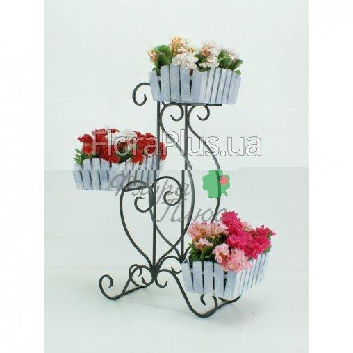 Подставка для цветов Парус 3 Кантри