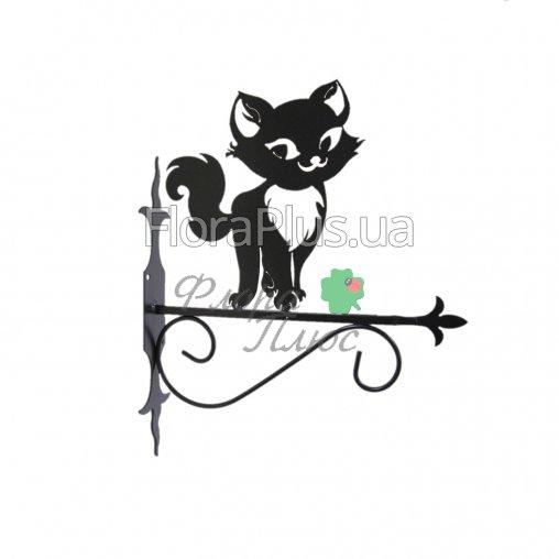 Крючок для подвесного цветка Кошка 1