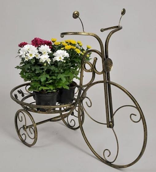Подставка для цветов Велосипед 1 большой