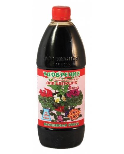 Волшебная Смесь для цветущих растений органо-минеральное удобрение 500мл
