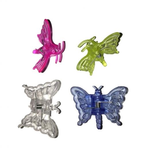 Зажим для орхидей бабочка 80шт