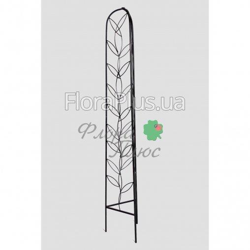 Кованая Опора садовая для растений треугольная 01