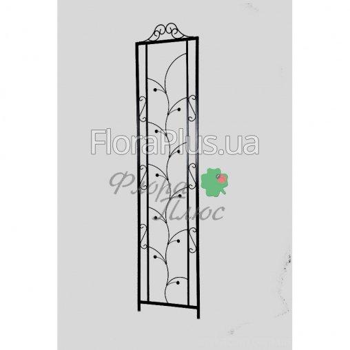 Кованая Опора садовая для растений плоская 4