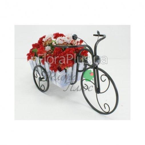 Подставка для цветов Велосипед 1 мал Кантри