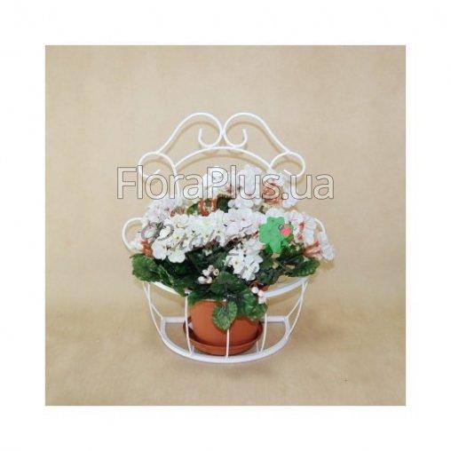 Подвесная цветочная подставка Мальва 01 малая.