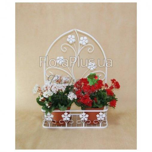 Подвесная цветочная подставка Мальва 02 средняя.