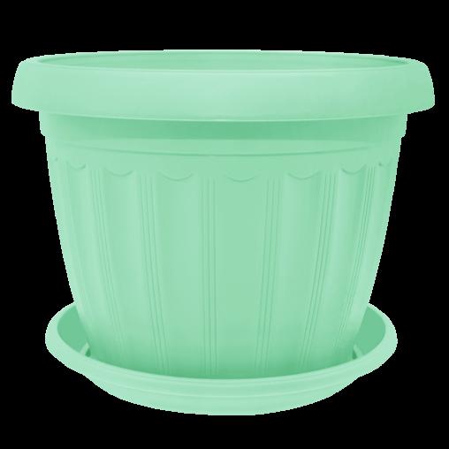 Вазон с подставкой Терра (цветные)