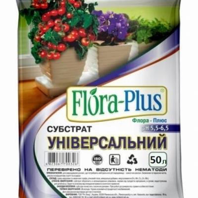 Субстрат универсальный 50л Флора Плюс