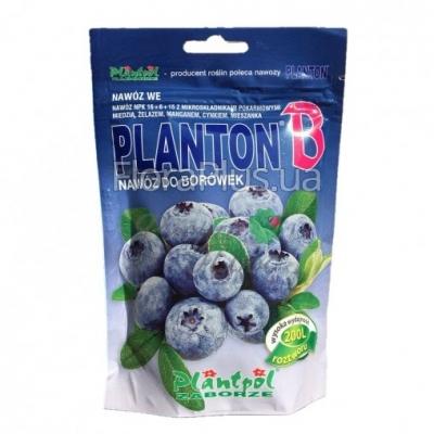 Минеральное удобрение для черники, голубики Planton B (Плантон В) 200 г NPK 16.6.15