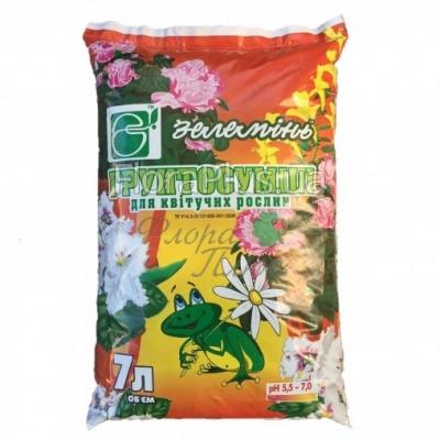 Грунтосмесь Зелеминь для цветущих  растений 7л
