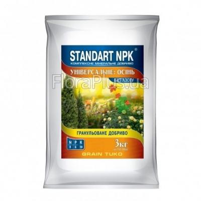 STANDART NPK Комплексное минеральное удобрение универсальное Осень